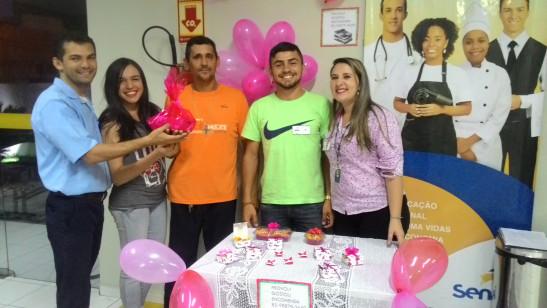 Alunos de Iguatu encerram curso com trabalho em alusão ao Dia dos Namorados
