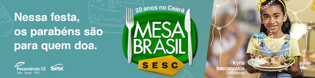 Mesa Brasil 20 anos